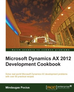 [eBook]Microsoft Dynamics AX 2012 Development Cookbook 发布
