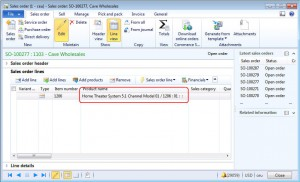 Microsoft Dynamics AX 2012 product name display method value logic