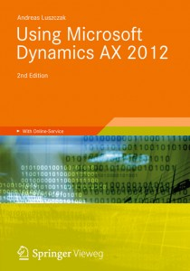 [eBook]Using Microsoft Dynamics AX 2012 发布