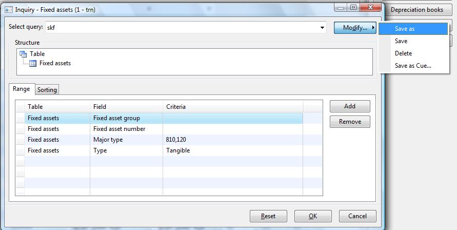 [转]Save/Copy the Filters/Queries/Inquiries to other users in AX