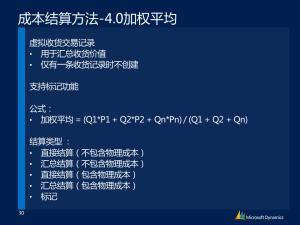 [视频]Microsoft Dynamics AX 3.0 – 2012 R2 成本不完全解析-04