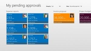 微软为Dynamics AX 2012推出多款Windows 8应用商店应用