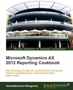 [eBook]Microsoft Dynamics AX 2012 Reporting Cookbook 发布