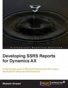 [eBook]Packt Developing SSRS Reports for Dynamics Ax 0Day电子书发布