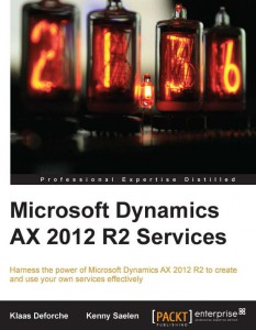 [eBook]Packt Microsoft Dynamics AX 2012 R2 Services 0Day 电子书发布