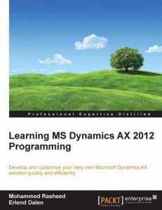 [eBook]Pack Learing MS Dynamics AX 2012 Programming 0Day电子书发布