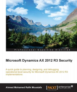 [eBook]Microsoft Dynamics AX 2012 R3 Security 电子书发布