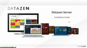 [视频]Microsoft 移动BI Datazen 服务器安装