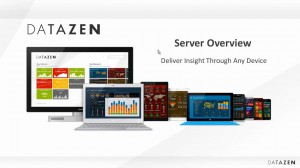 [视频]Microsoft 移动BI Datazen server 概览