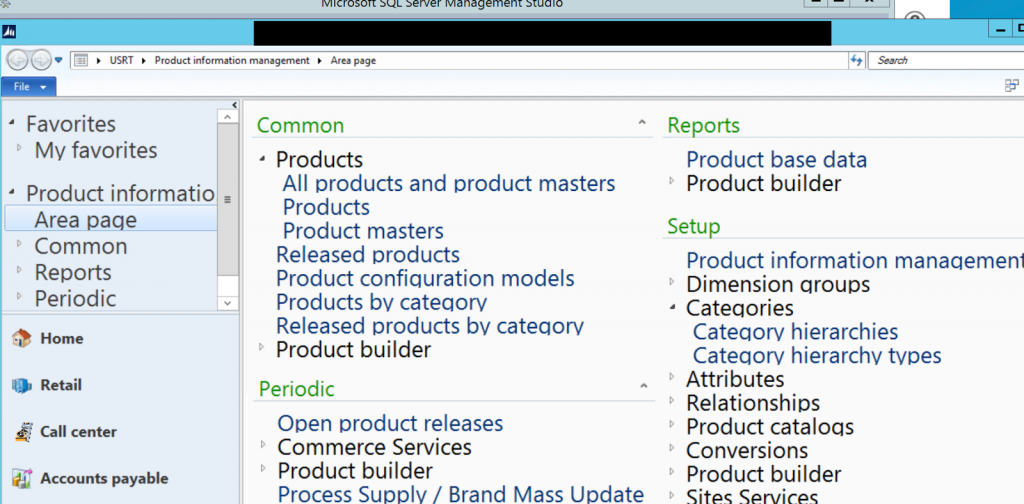 Dynamics AX R3 very large text in modules in RDP