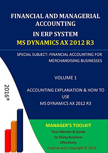 [eBook]Financial and Managerial Accounting in ERP System Microsoft Dynamics AX 2012 R3 电子书发布