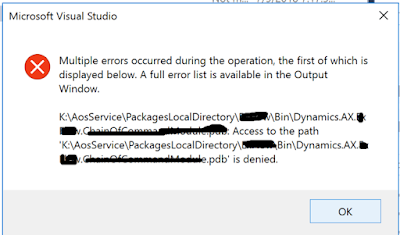 [SOLVED] Error while get latest on source control Dynamics365FO